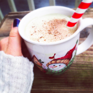 Healthy Holiday Nog