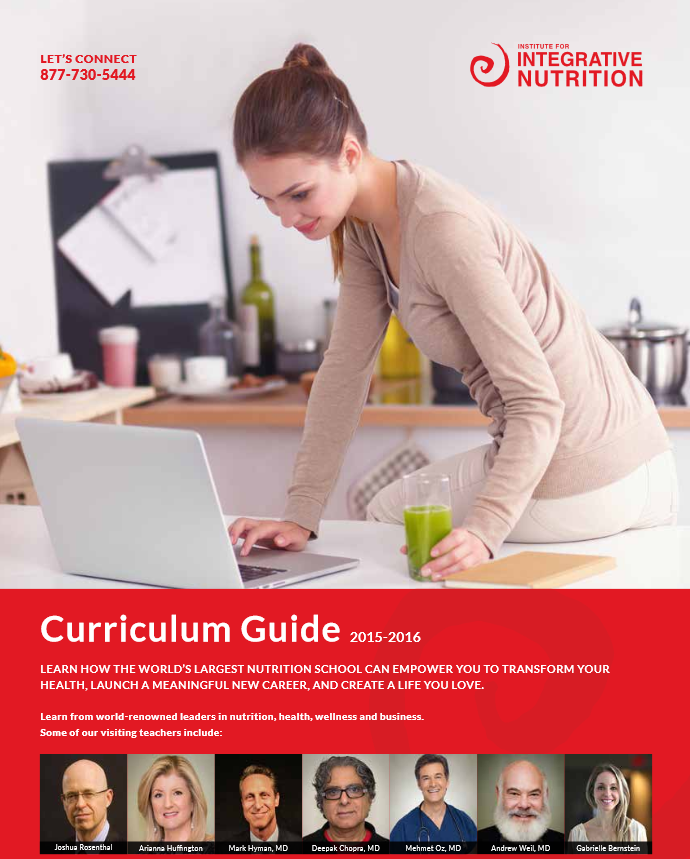 institute for integrative nutrition curriculum guide 2015