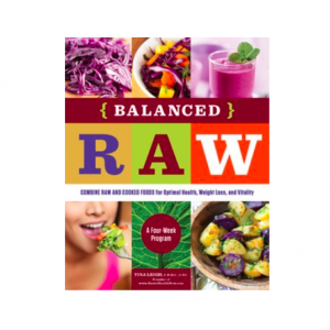 Balanced Raw book by tina leigh