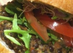 The Best Vegan, Gluten and Soy-Free Burger
