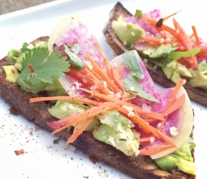 Easter Brunch Avocado Toast (with variations)