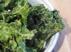 Spirulina Kale Chips