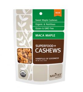 Organic Maca Maple Cashews