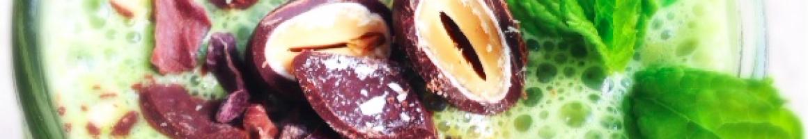 Mint Choco Crunch Smoothie