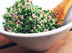 Superfood Twist on Traditional Tabbouleh