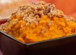 Guiltless Sweet Potato Casserole
