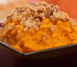 Guiltless Sweet Potato Casserole