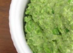 No Bean Sweet-Pea Hummus